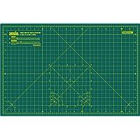 Ansio A3 doble cara auto curación 5 capas de corte Mat Imperial/métrica 17 pulgadas x 11 pulgadas / 44 cm x 29 cm - verde, A3