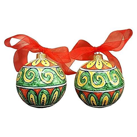CERAMICHE D'ARTE PARRINI - céramique italienne artistiques , 2 balles