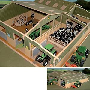 BRUSHWOOD Toy Farm BT8600 Covered Collecting Yard scale 1:32