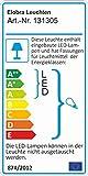Elobra Kinderlampe Deckenleuchte Blatt Wildnis Dschungel mit LED Nachtlicht, Kinderzimmer, Holz, grün, A++ für Elobra Kinderlampe Deckenleuchte Blatt Wildnis Dschungel mit LED Nachtlicht, Kinderzimmer, Holz, grün, A++