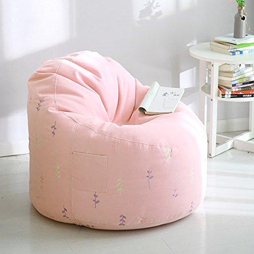 G-Y Sofa Paresseux, Sac D'haricot Propre Détachable Mini Simple, Petit Sofa Moderne De Mode (tissu Court De Pile) ( Couleur : Rose )
