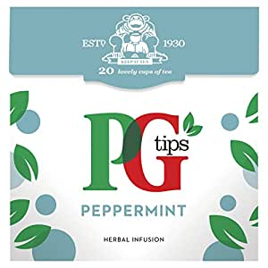 PG tips Peppermint 20s Pyramid Teabags 4 x 22g