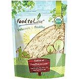 Food to Live Polvo de raíz de jengibre orgánico certificado (sin OMG, raíz de jengibre molida cruda, harina) 453 gramos