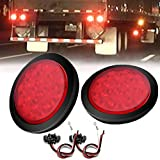 Ambother LED freno/Stop/Turn Signal Tail Light impermeabile per camion rimorchio (rosso)