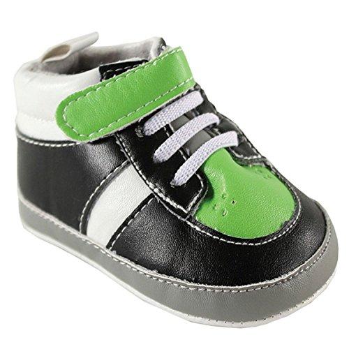 Luvable Friends , Chaussures souple pour bébé (garçon) Vert vert 6-12 mois vert