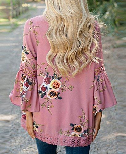 Smalltile - Sweat-shirt - Femme Rose