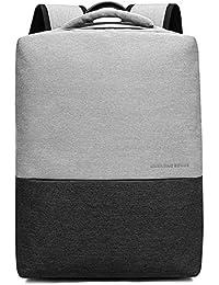53e166fab2 yinwang New Fashion Schultertasche Herren Baumwolle und Leinen Textur  Freizeit Laptop Tasche Einfach College Rucksack mit