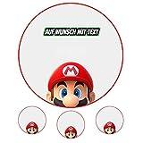 Tortenaufleger Geburtstag Tortenbild Zuckerbild Oblate Motiv: Super Mario 03 (Zuckerpapier)