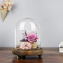 Immortelle Fleur Roses Décoration à La Maison/Cadeaux Fleur De Verre/ Cadeau D'anniversaire