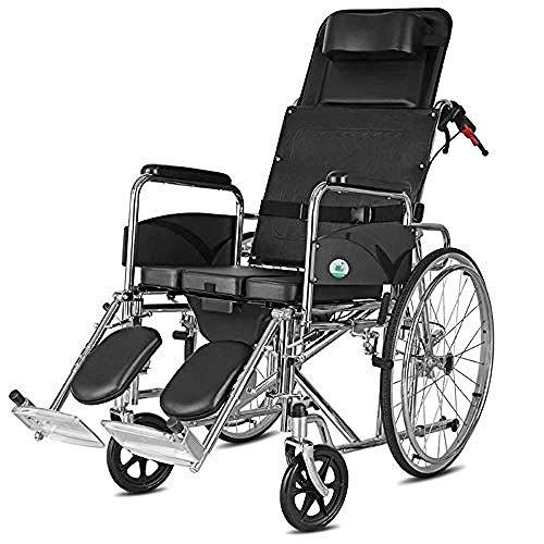 Cynyy Elektrisch Leicht Zusammenklappbar Vollautomatischer Elektrischer Rollstuhl Faltbar Elektrorollstuhl Medizinische Transportarmlehne Heben Beinkontrolle Rückenlehne Tragbar Klappbar