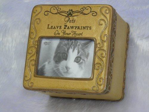 Gedenktafel für Haustiere Katze Foto Box Sentiment Andenken und Geschenk