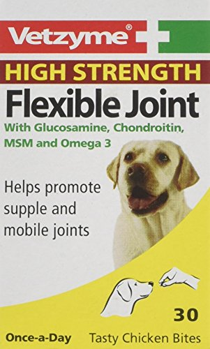 Bob Martin Vetzyme High Strength Flexible Joint, 30 Tablets