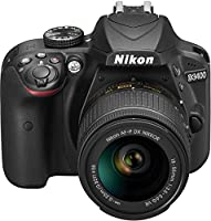 Nikon D3400 Camera digitale + Lente AF-P DX 18-55 mm f/3.5-5.6G VR, 24.2 MP, CMOS 6000 x 4000pixels, Nero