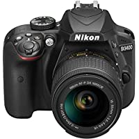 Nikon D3400 + Af-P 18-55Vr Siyah Digital Slr Kamera And Lens Kit