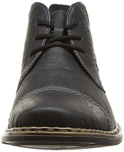 Rieker - 30820, Stivali Desert Boots Uomo Nero (Schwarz/granit)