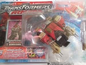 Transformers Armada Demolishor with Blackout Mini-con by Hasbro