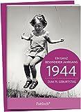 1944 - Ein ganz besonderer Jahrgang Zum 75. Geburtstag: Jahrgangs-Heftchen mit Kuvert
