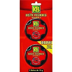 KB Anti Fourmis Boite Appat x2