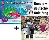 EDU Toys Experimentier-Set Elektrischer Edelsteinschleifer und Kristalle züchten mit umfangreichem Zubehör