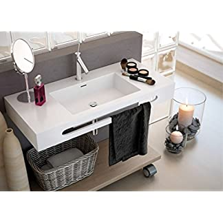 LAVABO SUSPENDIDO ART&BATH TECNOS SOLID SURFACE 1000X460X120 (NO INCLUYE MUEBLE)