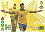 FIFA World Cup 2014 Brazil Adrenalyn XL Neymar Jr Top Master