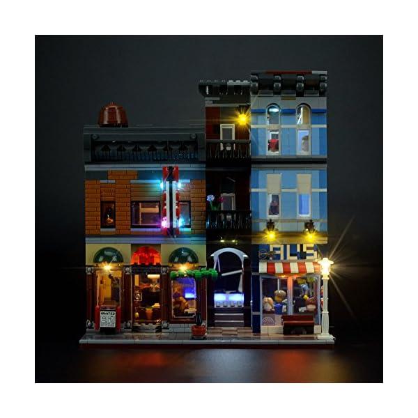 LIGHTAILING Set di Luci per (Creator Expert Ufficio Dell'Investigatore) Modello da Costruire - Kit Luce LED Compatibile… 3 spesavip
