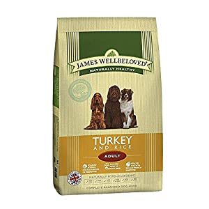 James Wellbeloved Dog Food Adult Turkey and Rice Kibble 15kg