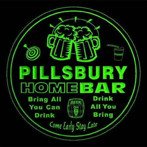 4x-ccq35141-g-pillsbury-family-name-home-bar-pub-beer-club-gift-3d-coasters
