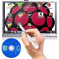 Kuman 5 Pulgadas Resistive 800x480 Módulo de Pantalla de HDMI TFT LCD con Panel de Táctil Tarjeta SD y Pluma Táctil para Raspberry Pi 3 2 Modelo B RPI 1 B B + A A + SC5A