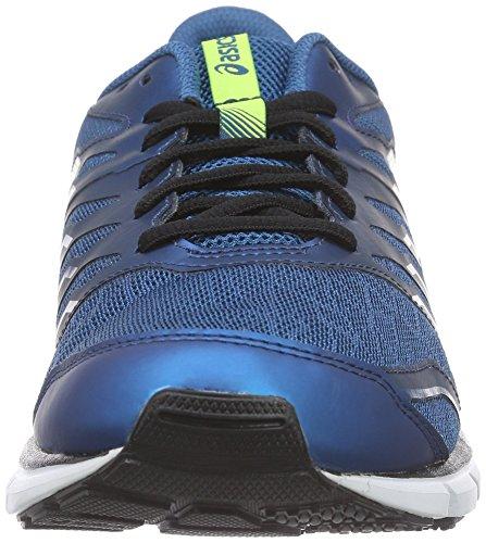 Asics Gel-zaraca 4, Chaussures de Running Entrainement Homme Bleu (Mosaic Blue/Flash Yellow/Onyx 5307)