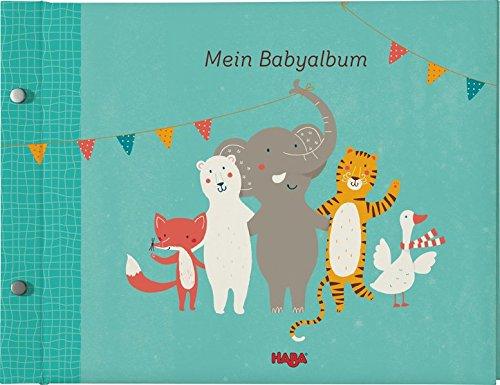 Haba 302683 - Mein Babyalbum Spielzeug, türkis
