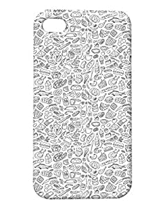 Pickpattern Back Cover for iPhone 4/4S