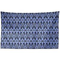 S4Sassy Mandala gedruckt Throw Light Blue Square Case//Kissenbezug