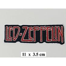 LED ZEPPELIN Band Jacket T shirt Logo Aufnäher bestickt Logo Sign Costum
