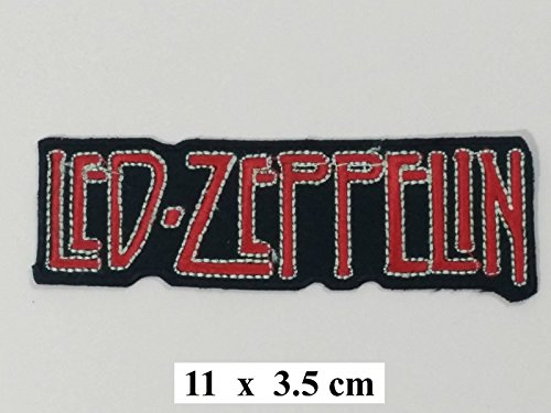"LED ZEPPELIN Music Band Logo Patch-Maglietta Sew ricamato Iron on, ""Build your Bears Wardrobe"