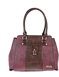 FUR JADEN Women's Handbag( Wine,H300_Wine)