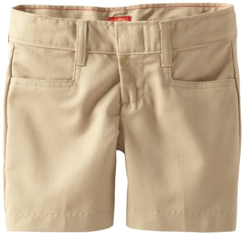 Dickie Classic Shorts (Dickies - - Kr311 Girl 's Classic Short - (Größen 4-6x), 6, Khaki)