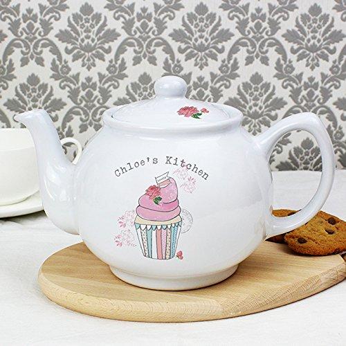 Vintage cupcake teiera personalizzato personalizzare il anteriore di questo Vintage Cup Cake teiera con 1