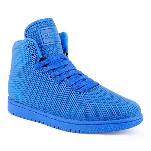 Herren Sportschuhe High Top Sneaker Basketball Freizeit Schuhe Royal EU 43