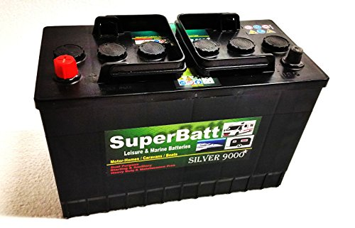 12V 75AH 700A SuperBatt XC096 Heavy Duty Calcium Silver Car Battery TYPE 096