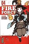Fire force, tome 4 par Okubo