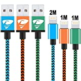iPhone Charger Cable[3pack] Rephoenix Li...