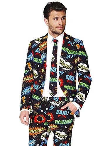 Costume Mr Comics per uomo Opposuits