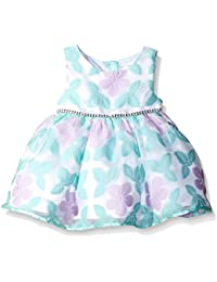 Youngland Baby Girls' Butterfly Organza Occasion Dress