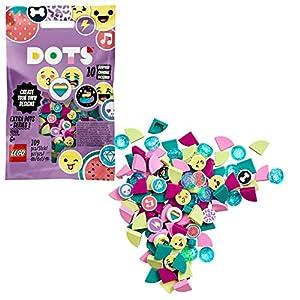 LEGO- Dots Extra Serie 1 Accessori con Elementi Glitterati, Traslucidi e Speciali per Cambiare il tuo Braccialetto o le tue Creazioni con Decorazioni Aggiuntive, per Bambini da +6 Anni, 41908 3 spesavip