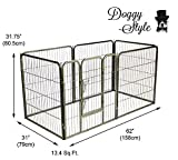 Doggy Style Heavy Duty Puppy Play Pen, Medium