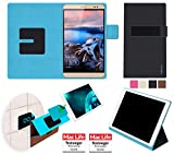 reboon Huawei MediaPad X2 Hülle Tasche Cover Case Bumper | Schwarz | Testsieger