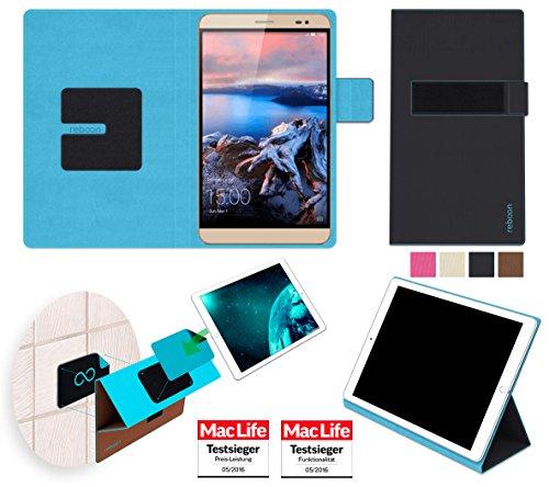 reboon Hülle für Huawei MediaPad X2 Tasche Cover Case Bumper | in Schwarz | Testsieger