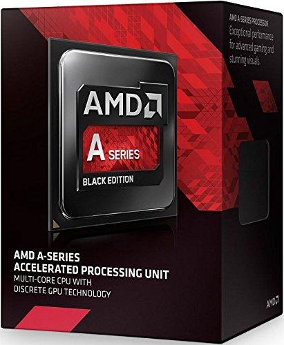 AMD A10 X4 7700K FM2+ Processore, Nero