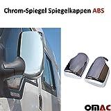 Chrom Spiegel Blenden Spiegelppen ABS Transit Bj.2000 -2012